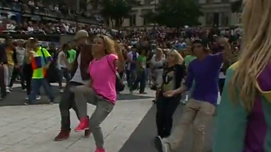 Michael Jackson - Flashmob in Stockholm