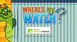 Disney´s Where ist my Water - now available for Android
