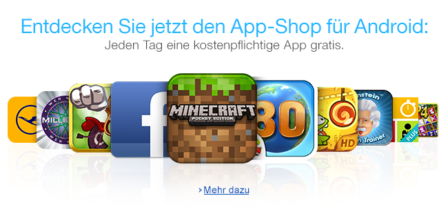 Amazon Android App Store im Web