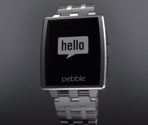 pebble smartwatch steel